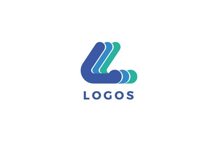 L Letter Logo Template