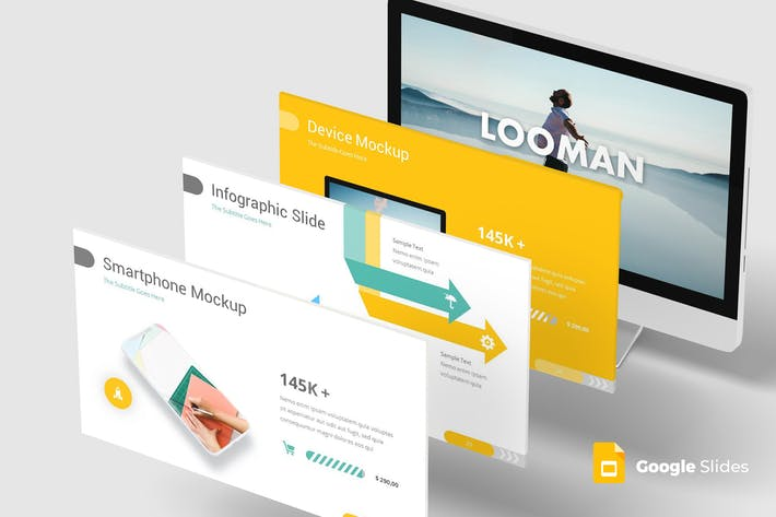 Looman - Google Slides Templates