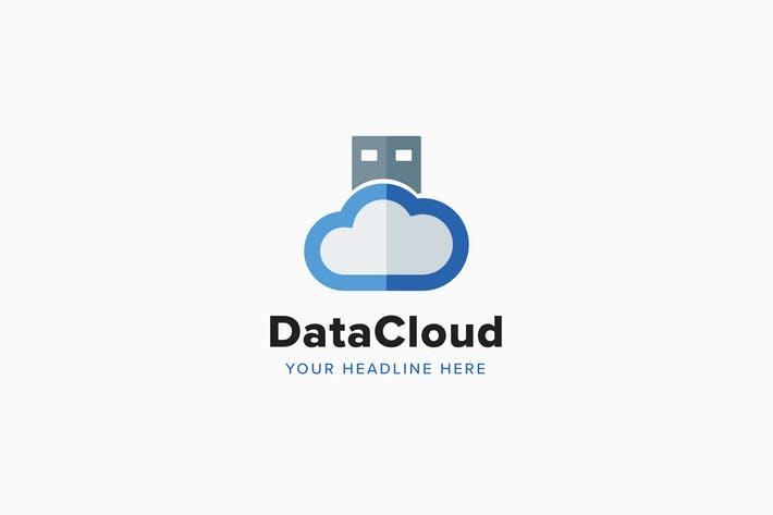 Data Cloud Logo Template