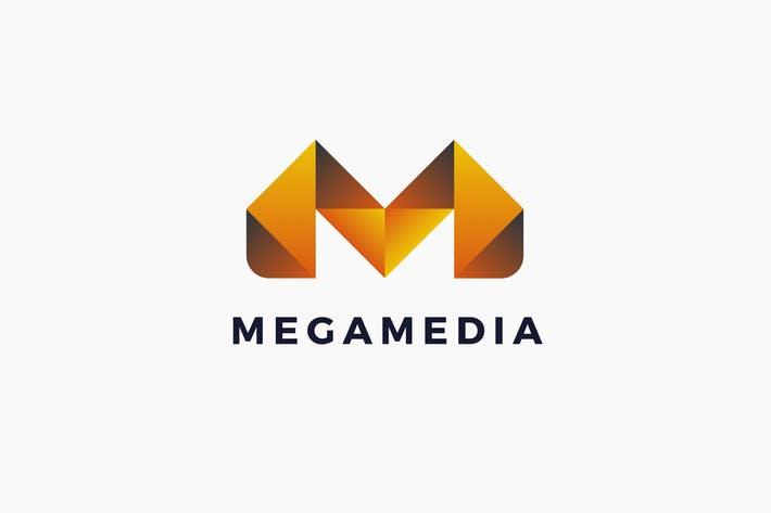 Mega Media Logo Template