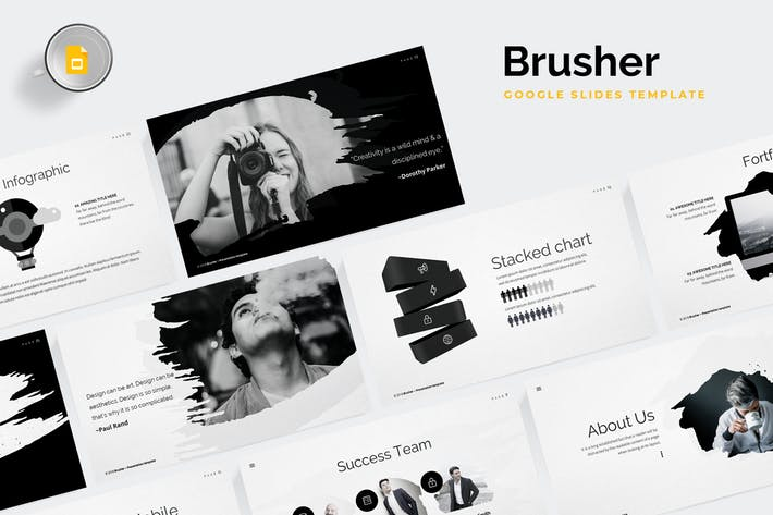 Brusher Google Slides Template