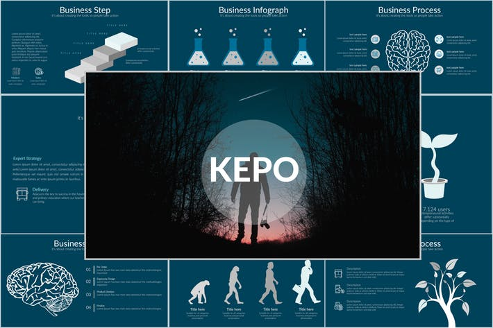 KEPO Powerpoint Template