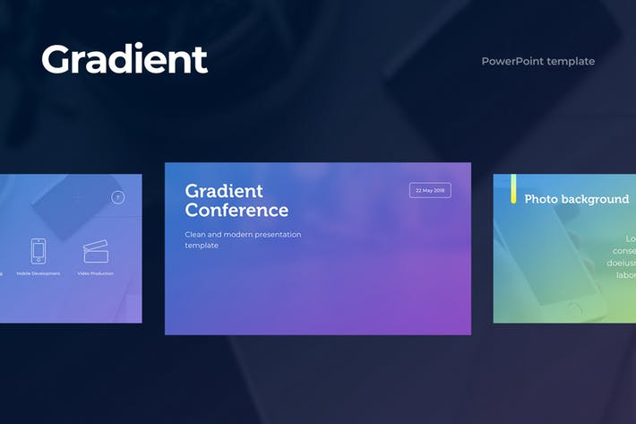 Gradient PowerPoint Template