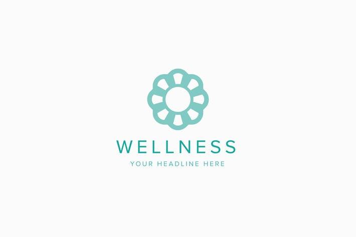 Wellness Logo Template
