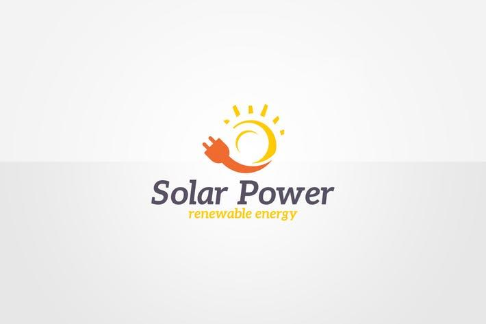 Green Energy Logo Template