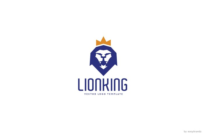 New New Lion King Logo Template