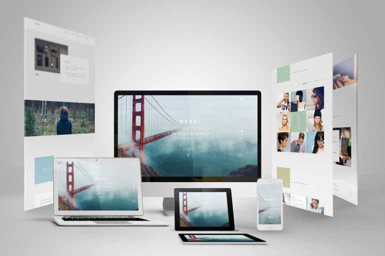 Psd Web Showcase Mockup 03