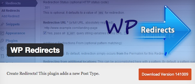 WP Redirects