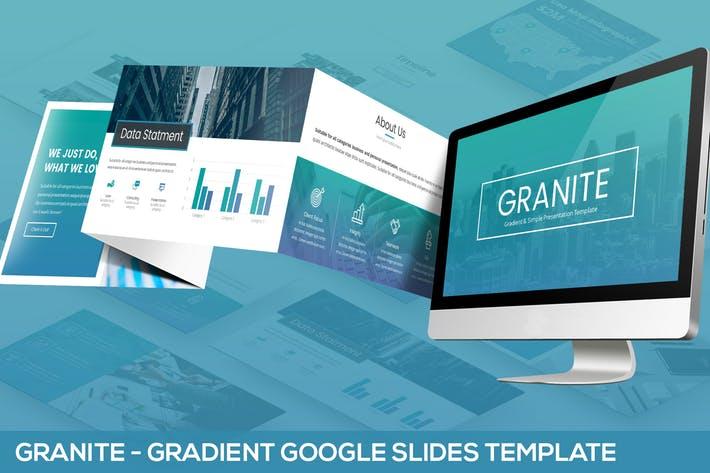 Granite - Google Slides Template