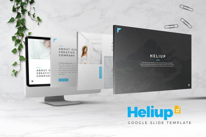 Heliup - Google Slides Template
