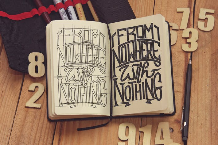 Sketch Pocket Notebook Vertical