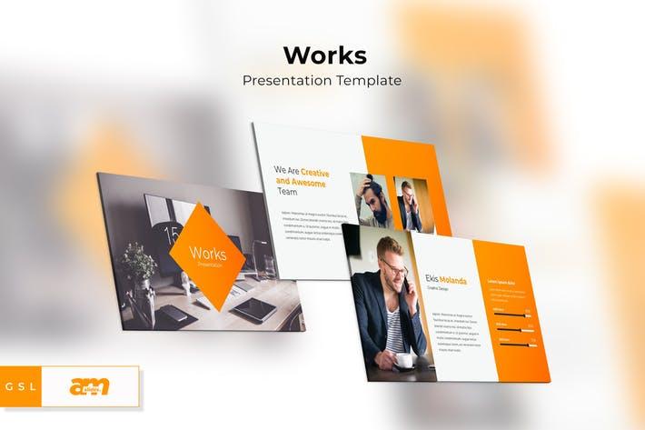 New New Works Google Slides Presentation