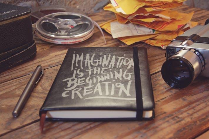 Pocket Notebook Black Cover