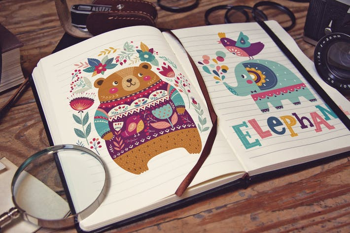 Pocket Notebook Writing Lens