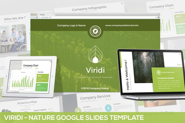 New New Viridi - Nature Google Slides Template
