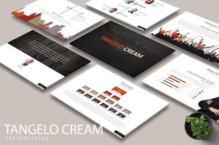 New New TANGELO CREAM Google Slides