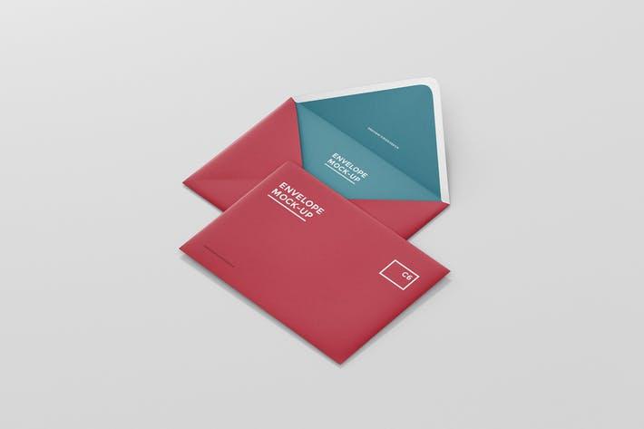 Envelope C6 Mock-Up