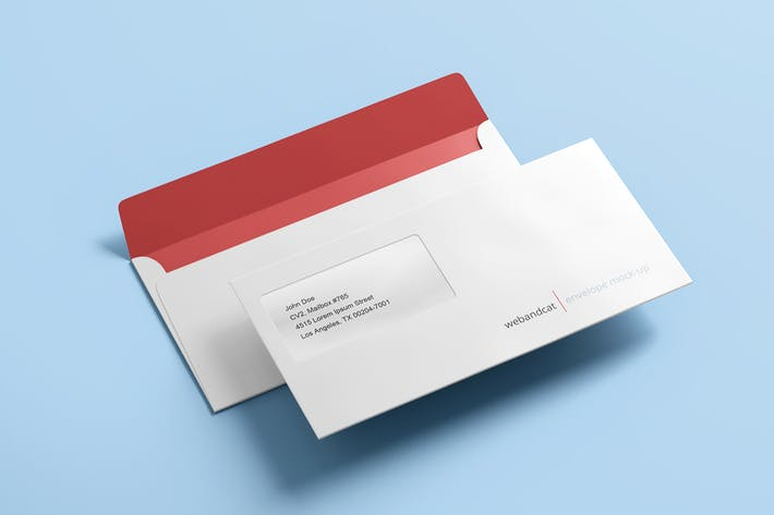 Envelope DL Mock-up