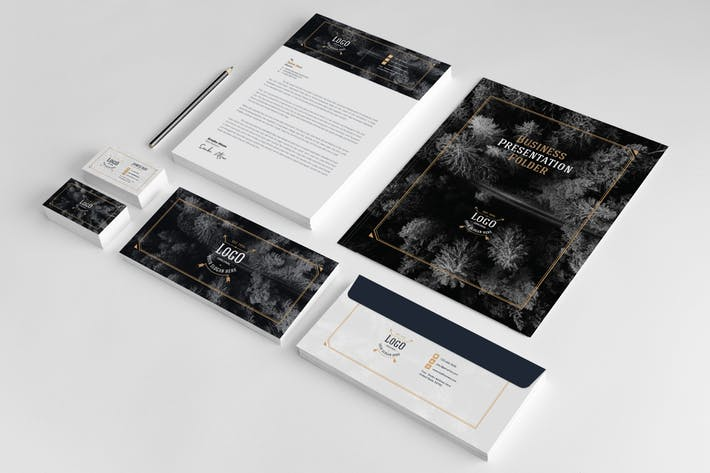 Business Stationery Template 18