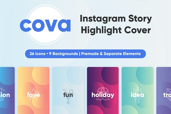 Cova Instagram Story Highlight Cove…