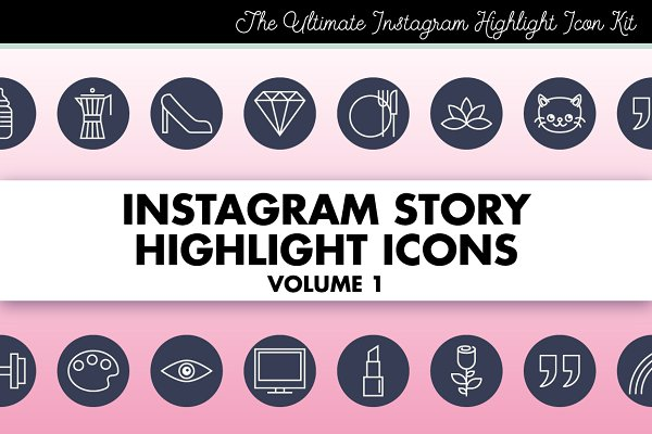 Instagram Story Highlight Icons 1