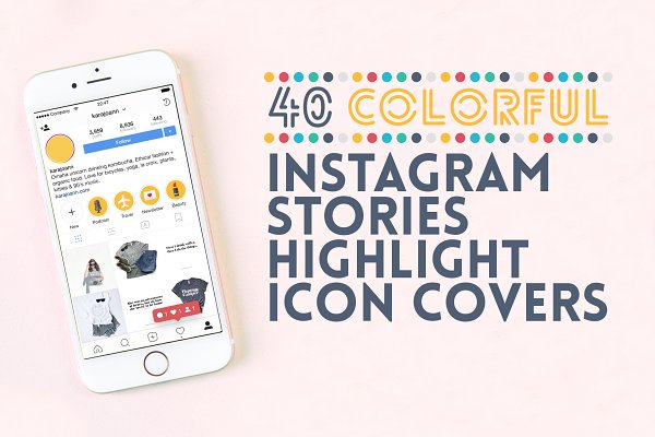 40 Instagram Stories Highlight Icon…