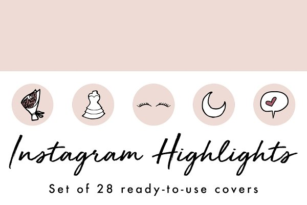 28 Instagram Stories Highlight Icon…
