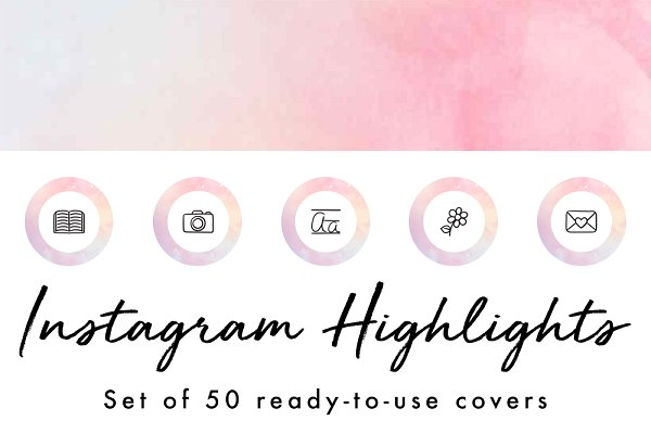 50 Instagram Story Highlight Icons