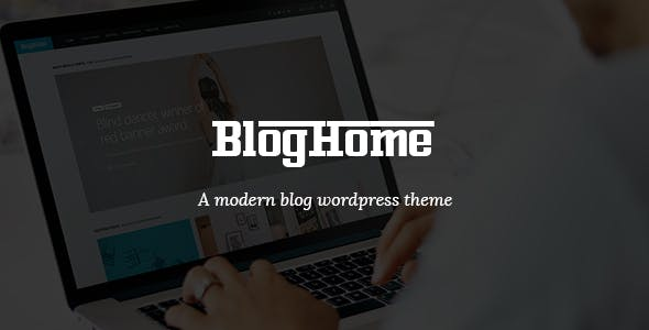 Blog Home - Responsive WordPress Blog Theme