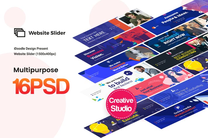 Website Sliders Multipurpose, Business Ad