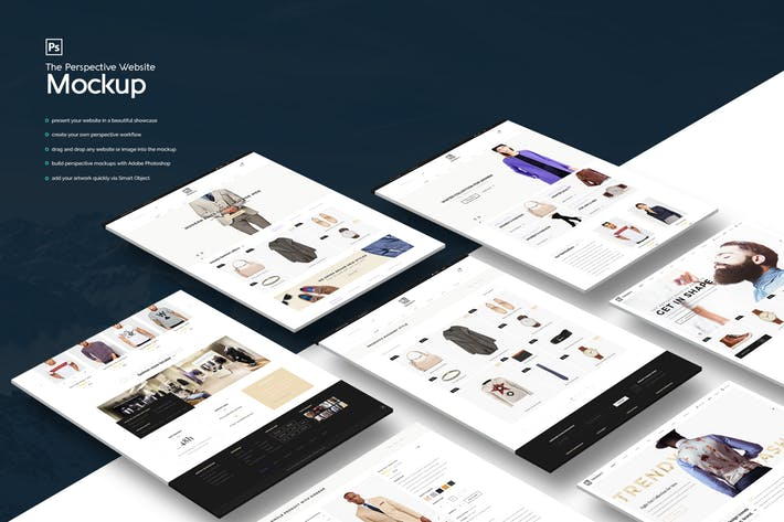 The Perspective Website Mockup