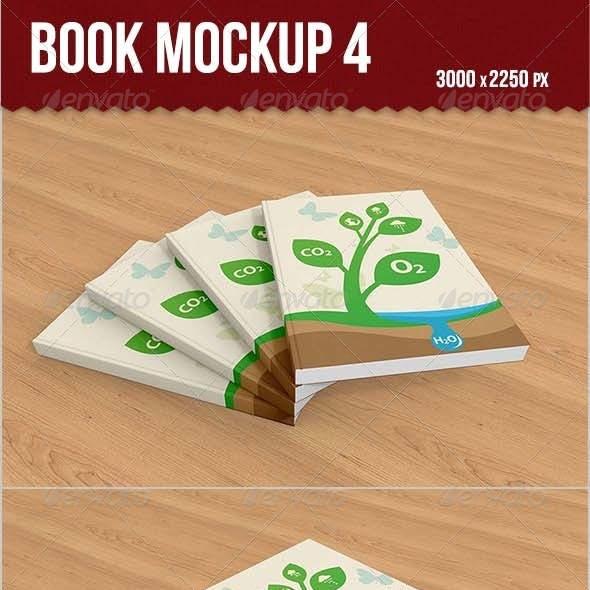 Book Mockup 4