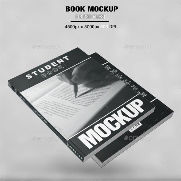 Student Book Mockup