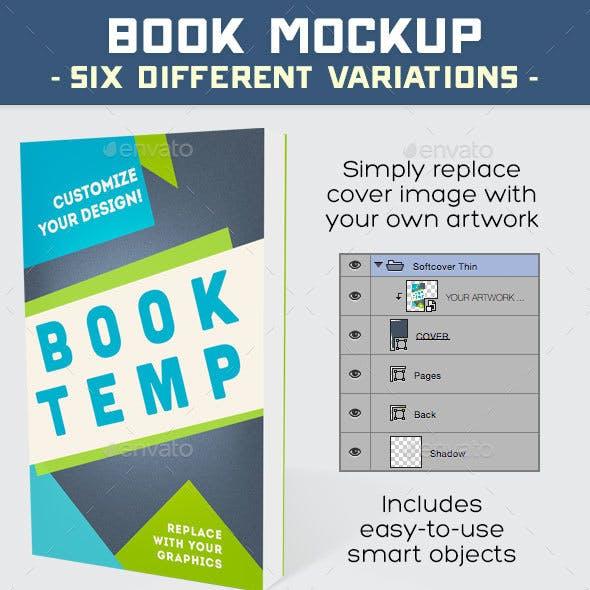 Book Mockup PSD
