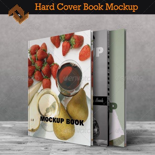 Book Mockup / Hard Cover