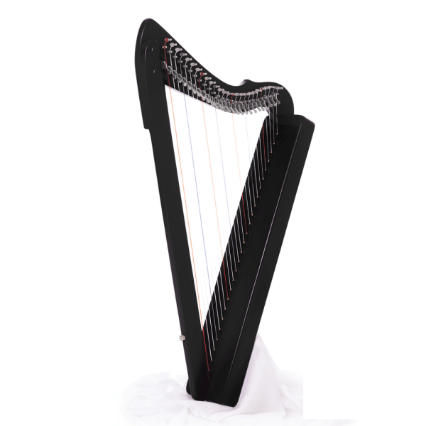 26 Strings Fullsicle Harp Black