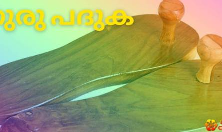 guru paduka lyrics in malayalam with meaning, benefits, pdf and mp3 song