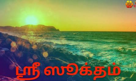 Sri suktam lyrics in tamil with meaning, benefits, pdf and mp3 song