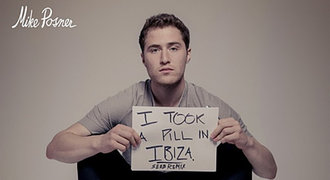 Mike Posner - I Took A Pill In Ibiza Lyrics