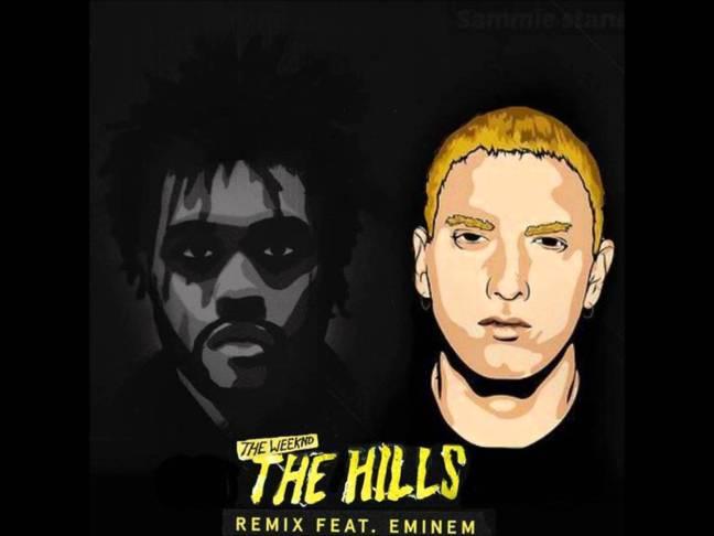 The Weeknd ft Eminem - The Hills Remix Lyrics