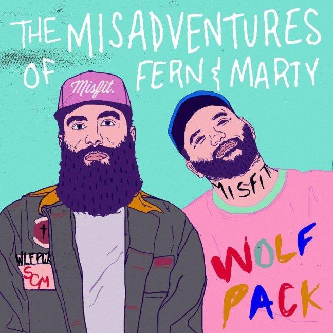 Social Club Misfits - The Misadventures of Fern & Marty (Album Lyrics)
