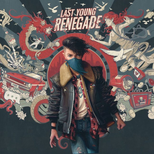 All Time Low - Last Young Renegade (Album Cover Art)