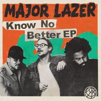 Major Lazer - Know No Better Album Cover 2017