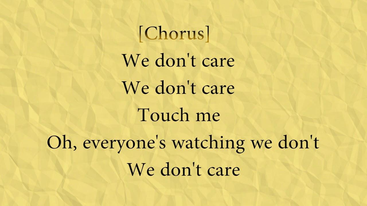 BØRNS – We Don't Care Lyrics