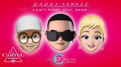 Con Calma Remix lyrics withKaty Perry feat. Snow