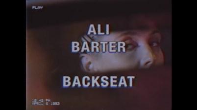 Ali Barter - Backseat Lyrics