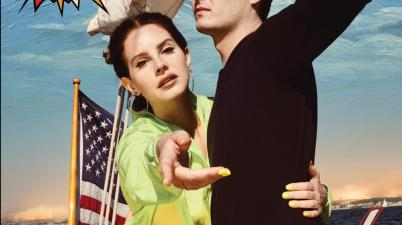 Lana Del Rey - Norman F Rockwell!