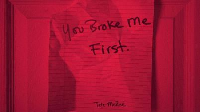 Tate McRae - you broke me first Lyrics