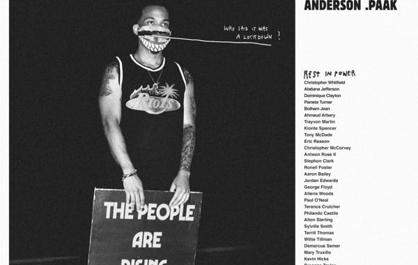 Anderson .Paak - Lockdown Lyrics