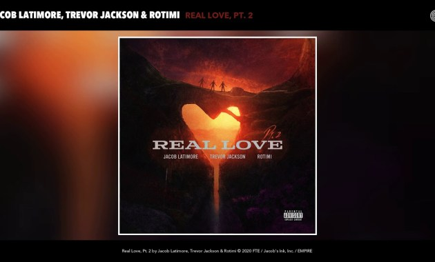 Jacob Latimore, Trevor Jackson & Rotimi - Real Love, Pt. 2 Lyrics